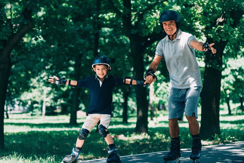 Skaten voor gezondheid